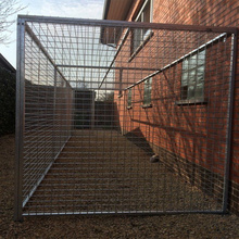 Pet Enclosure Outdoor Tugas Berat Dog Run Kennel