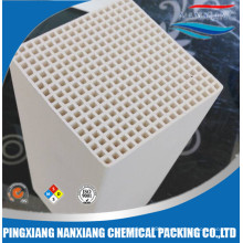 Alumina, mullite, cordierite ceramic honeycomb monolith Heat exchanger for RTO 150*150*150/300mm