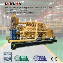 com o gerador industrial do gerador de gás da cama de carvão de Stamford Alternator1000rpm 500kw ou de 600kw China Lvhuan tipo