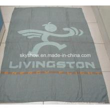 Шерсть и акрил авиакомпании одеяло (SSB0121)