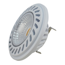 Foco LED AR111 COB 16.5W 1600lm G53 AC/DC12V blanco cubierta