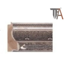 Brown Color Wood Material for Window Curtain Frame