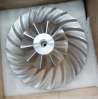 7075 aluminum precision impeller blade for marine