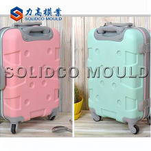 plastic luggage mould/low price luggage case mould/custom high quality plastic luggage case mould