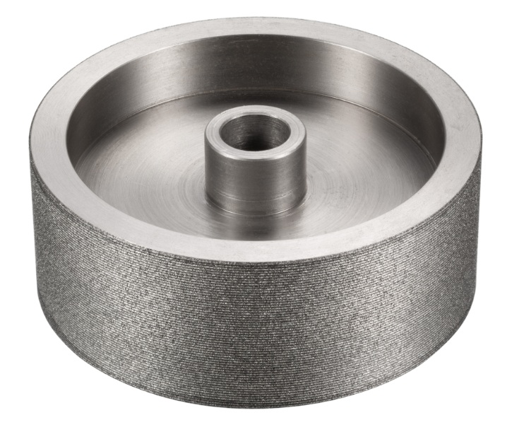 Cylindrical diamond grinding wheels for brake pad