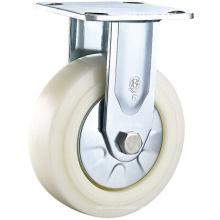Heavy Duty Nylon Caster Wheel Starre Platte Caster