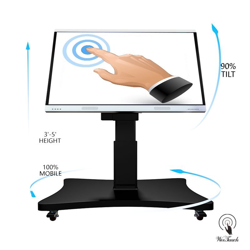 75 Inches Smart LED Panel With Automatic Stand