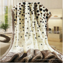 Flanen super macio do impressão do Simples-Estilo Cobertor De Lã