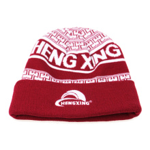Promotional Tangy Red Knitted Hat
