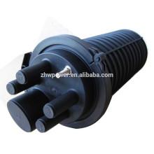 Телекоммуникационное оборудование: оптоволоконное сращивание, закрытие купола с 24 до 96 или горизонтальное оптическое соединение