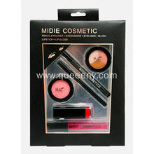 Pencil eyeliner+Eyeshadow+Eyeliner+Blush+Lipstick+Lip gloss