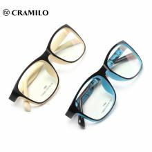 prime japonaise de vente de verres optiques TR90 cadre coloré