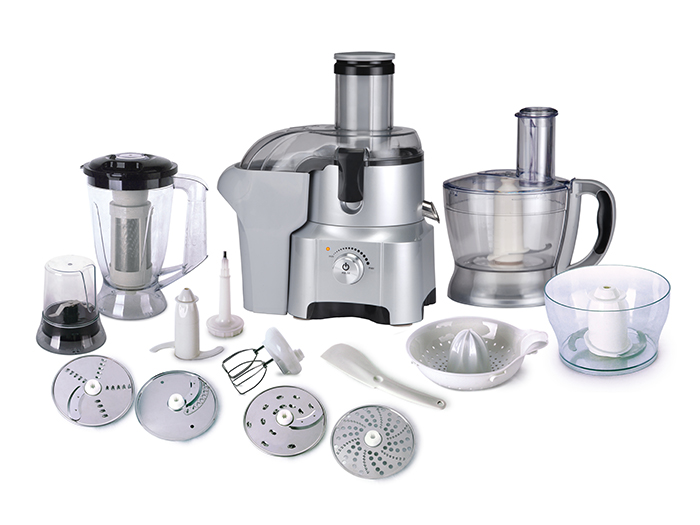 Plastic jar food processor 15 in 1
