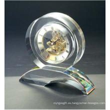 Suministros de oficina reloj de cristal y conjunto de reloj