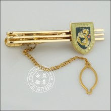Custom Gold Tie Clip, Metal Stickpin (GZHY-TC-073)