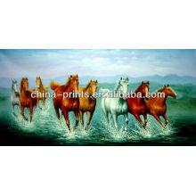 Восемь картин лошадей