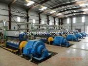 Water Cooling Generating Sets HFO Fired Power Plant 11KV /