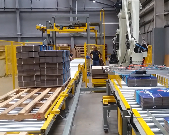 Corrugated Packaging Line