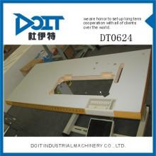 DT0624 plegable mesa de la máquina de coser industrial con rueda