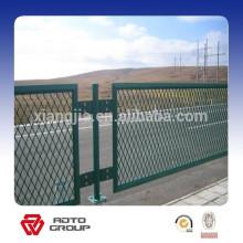 clôture en treillis métallique