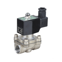 2WB-15 IP65 AC220V 1/2 inch  Stainless Steel Electric Water Solenoid Valve