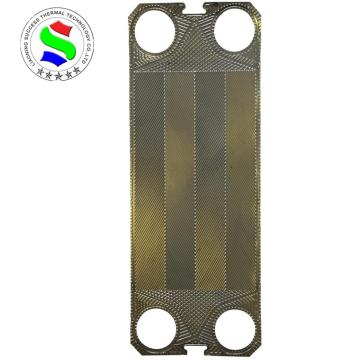 heat exchanger parts low-theta 0.5mm ss316 plate S100