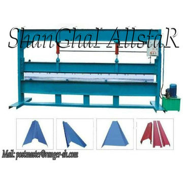ausgezeichnet in der Qualität Stahlblech gemacht Biegemaschine Allstar in shanghai