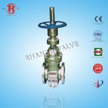 Non diversion hole flat gate valve parts