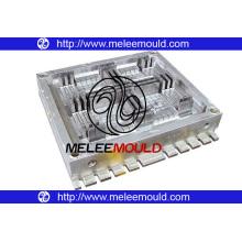 Apilamiento de moldes de plataforma y palets de plástico (MOLDES MELEE -32)