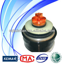 Hot Sale Price High Voltage 500kV Copper XLPE Insulated PVC 1*2500mm2 Electrical Underground Power Cable