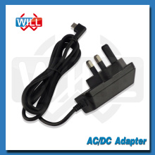 CE BS Conector de pared UK 1a 2a 3a 5v Adaptador de corriente CA