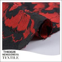 China precio de moda de alta calidad de tela de poliéster brocado jacquard de alta calidad