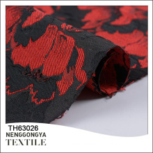China custom High quality fashionable poly jacquard brocade fabric price