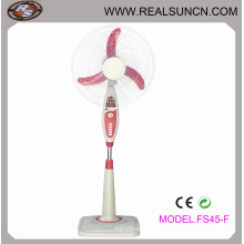 Stand Fan with ABS Material Square Base-Fs45f