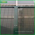 Durable 358 soudé Fence Beatiful Color cuvy soudé Wire Fence