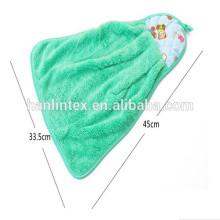 Novo design Toalha de rosto de lã coral