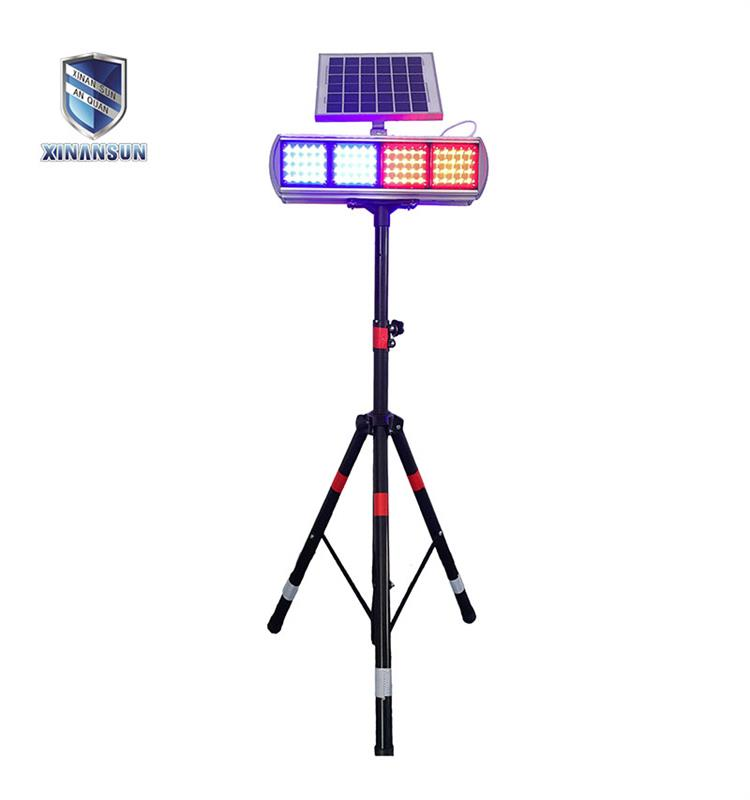 Waterproof Solar Warning Lamp