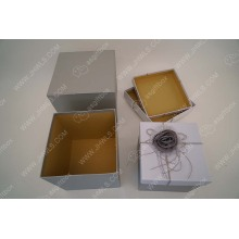 High end design luxury scarf gift package box