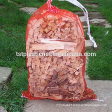 mono net bag for kindling wood