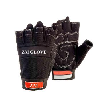 Мембрана вкладыш перчатки искусственная кожа перчатки без пальцев для использования Почтальон