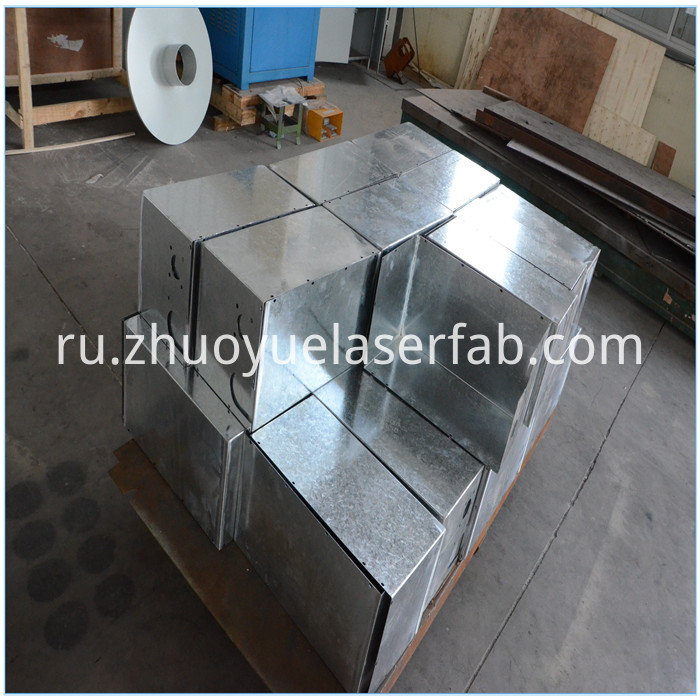 galvanized steel box