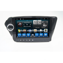 Kaier Factory directly !android 4.4 car dvd player for K2 +OEM+DVR+Dual core !
