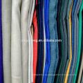 Camisa 100% tela de algodón 20 * 20 buena calidad