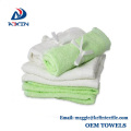 KL-2017 hot sale natural bamboo fiber face towel terry baby washcloth/dish towels