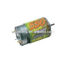 Peças de carro Rc 1/10 1/10 rc carro elétrico, motor escovado 550