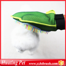 100% Original Factory for Pet Deshedding Brush Glove pup cleaning glove mitt supply to Russian Federation Supplier