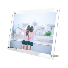 Desktop Display Stand Custom Poster Memorial Clear Acrylic Picture Photo Frame for Home Decor