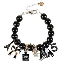 fashion accessory butterfly Eiffel Tower charm bracelet bead bracelet wholesale alibaba