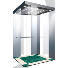 Ascenseur de passager d'acier inoxydable de miroir d'Aksen J0326