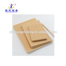 Cuadernos de papel de Kraft al por mayor del nuevo diseño de encargo disponibles